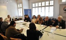 Reunión Cofralandes de Letras en Villa Victoria.