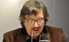 Sergio Olguin en el diálogo abierto con escritores de Iberoamérica