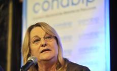 María del Carmen Bianchi en el discurso de apertura del acto organizado por la CONABIP