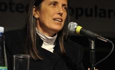 Conferencia de Claudia Piñeiro en la 35ª Feria Internacional del Libro, en el marco del Encuentro Nacional de Bibliotecas Populares
