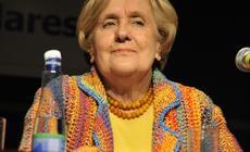 Conferencia de Ivonne Bordelois en la 35ª Feria Internacional del Libro, en el marco del Encuentro Nacional de Bibliotecas Populares