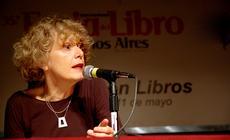 Conferencia de Michelle Petit en la 35ª Feria Internacional del Libro año 2009, en el marco del Encuentro Nacional de Bibliotecas Populares